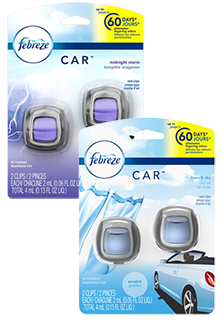 Febreze Car Vent 2 Count Air Freshener
