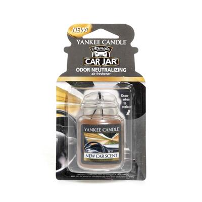Yankee Candle Gel Jar Air Freshener - New Car