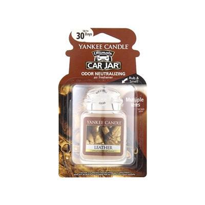 Yankee Candle Gel Jar Air Freshener - Leather