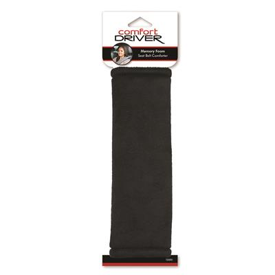 Bell Automotive 22-1-33240-8 Black Memory Foam Seat Belt Pad