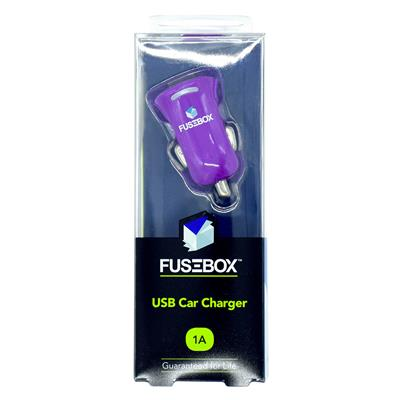 Fusebox Car Charger- 1 Port- 1 Amp on