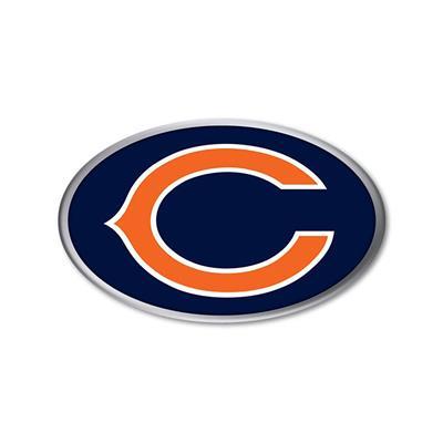 Chrome Auto Emblem Chicago Bears Superior Auto Extras